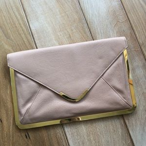 ASOS Nude Envelope Clutch